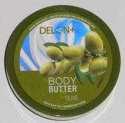 DELON Intense Moisturising Olive Body Butter 200ml/196g
