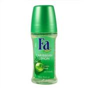 Fa Caribbean Lemon 24h Deo Roll-on Glass Bottle