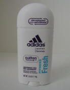 Adidas Cotton Tech Aluminium Free Deodorant, Fitness Fresh