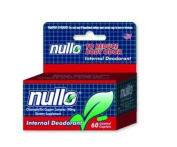 135ct Nullo Deodorizer Tablets Bottle of 135