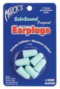 Mack's Original SafeSound® Ear Plugs - 3-pair Blister Pack