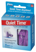 Flents Quiet Time Soft Foam Ear Plugs with Carrying Case