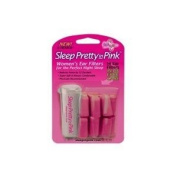 Sleep Pretty in Pink Women's Ear Plugs, 7-Pair