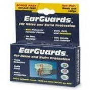EarGuards Ear Plugs, Bonus Pack - 2 pr