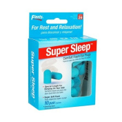 NEW! Super Sleep Comfort Foam Ear Plugs - 10 Pair + Carrying Case-Special Length for Sleeping on Your Side