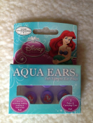 "Aqua Ears ""Little Mermaid"" Soft Silicone Ear Plugs - 3 Pairs"