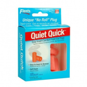 Flents Quiet Quick Comfort Ear Plugs - 10 Pair with Case