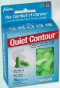 Flents Contour Ear Plugs - Soft Comfort! 10 Pair