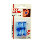 Super Soft Ear Plugs - 4 Pair - NRR22