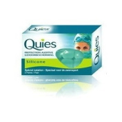 QUIES SILICONE EAR PLUGS 3 PAIR