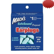 Macks Original Safesound Soft Foam Earplugs