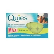 Quies Maxi Silicone Ear Plugs 3 Pair