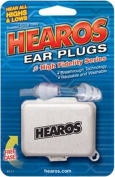 Hearos Earplugs High Fidelity Series with Free Case, 1-Pair