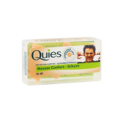 Quies Rubber Foam Ear Plugs - 3 pairs