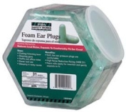 EAR PLUGS FOAM 100PR DISPLAY