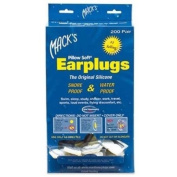 Mack's Pillow Soft® Ear Plugs - White - 200-pair Dispenser
