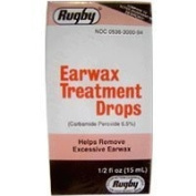 EAR WAX DROPS *RUG Size