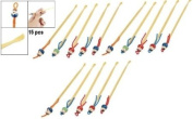 Set of Bamboo Earpicks / Ear Cleaners / Earwax Removers (15 pcs or 5 pcs by your own selection)