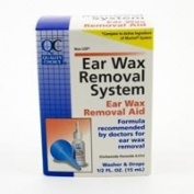 Special pack of 5 x Quality Choice EAR WAX REMOVAL SYSTEM 15ml