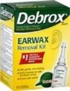 Debrox Earwax Removal Kit,
