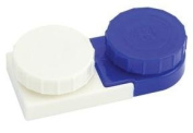 2 Deluxe Contact Lens Cases By Apex Healthcare Products