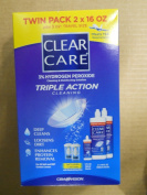 Clear Care 3% Hydrogen peroxide Triple Action Cleaning Triple Action 2x470ml + 90ml Travel Size