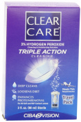Clear Care Cleaning & Disinfection Solution-3 oz,Travel Pack