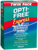 Opti-Free Express Multi-purpose Disinfecting Solution, 2-Count, 300ml Bottles
