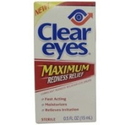 CLEAR EYES DROPS REDNESS MAX Size