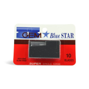 Gem Blue Star Gem Blue Star Super Single Edge Blades