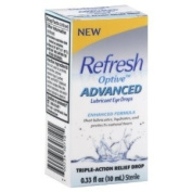Refresh Optive Advanced Lubricant Eye Drops -- 10ml