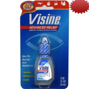 Visine Advanced Relief Redness Reliever Eye Drops, 10ml