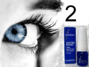 2 Bottles Innoxa French Blue Gouttes Bleues Eye Lite Drops Eye Lotion