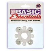 "Brand New Basic Essentials Enhancer Ring W/Beads ""Item Type"