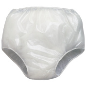 Extra Protection Waterproof Soft Vinyl Pull On Under Pants 3 Pk.