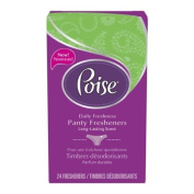 Poise Panty Fresheners, 24 Countÿ