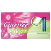 Carefree Panty Liners Breathable Aloe 20 [Personal Care]