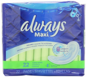 Always Maxi Unscented Pads without Wings