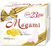 Elis Megami Soft Slim for Heavy Days, 28 Pads without Wings