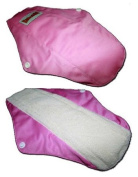 "4 Bamboo Mama Cloth/ Menstrual Pads/ Reusable & Water proof Sanitary Pads / Panty Liners by ""BubuBibi"""