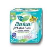 Laurier Super Ultra Slim Sanitary Napkin 20 Pieces.