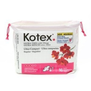 Kotex Uns Ultimate Compact with Wings - 8 Pack