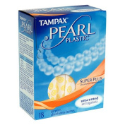 Tampax Tampax Pearl 18 Super Plus Unscented