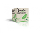 Veeda Regular Tampons Applicator 16 Count 100% Natural