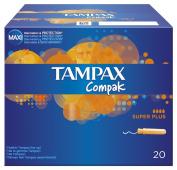 Tampax Tampons Compak Super Plus 20