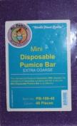 Mr Pumice - Mini Disposable Pumice Bar Extra Coarse 40 pcs.