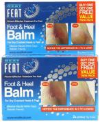 Foot & Heel Balm 75g Twinpack