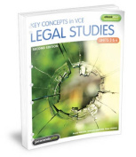 Key Concepts in VCE Legal Studies Units 3 & 4 2E Flexisaver & eBookPLUS