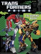 Transformers Prime Colouring Book
