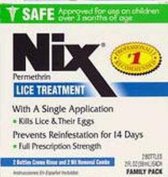Nix Lice Treatment Cream Rinse 60 ml